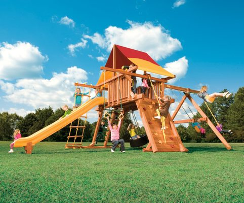 Create the Ultimate Outdoor Playground