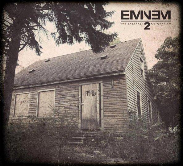 New Eminem album cover