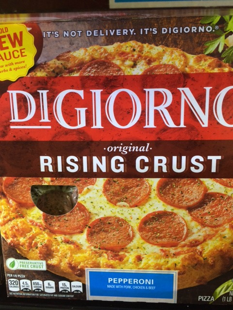 Walmart Digiornio Pizza #cbias #shop #GameTimeGoodies