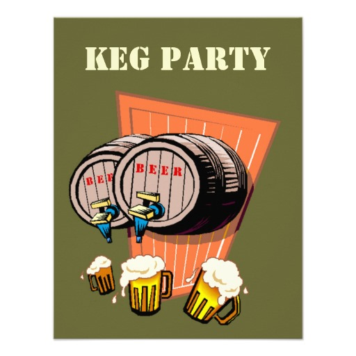 Keg of Beer for Guys Night Out