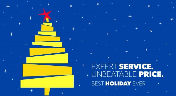 Best Buy Holiday Tree Logo