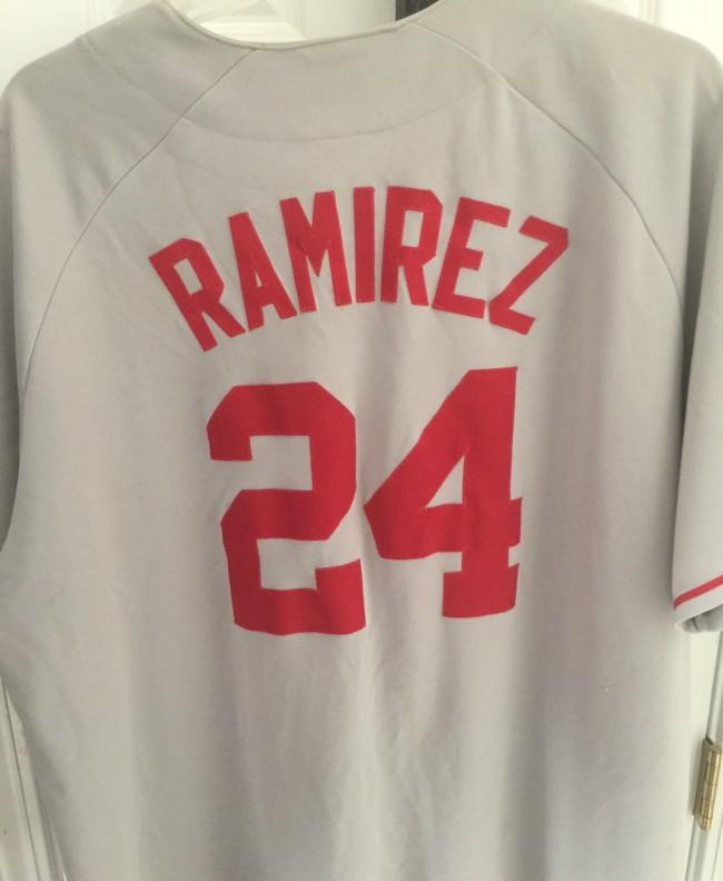 Manny Ramirez Boston Jersey