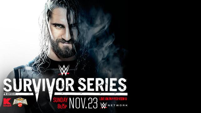 2014 WWE Survivor Series Poster