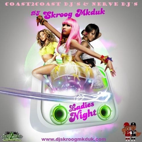 DJ Skroog Mkduk Ladies Night mixtape cover