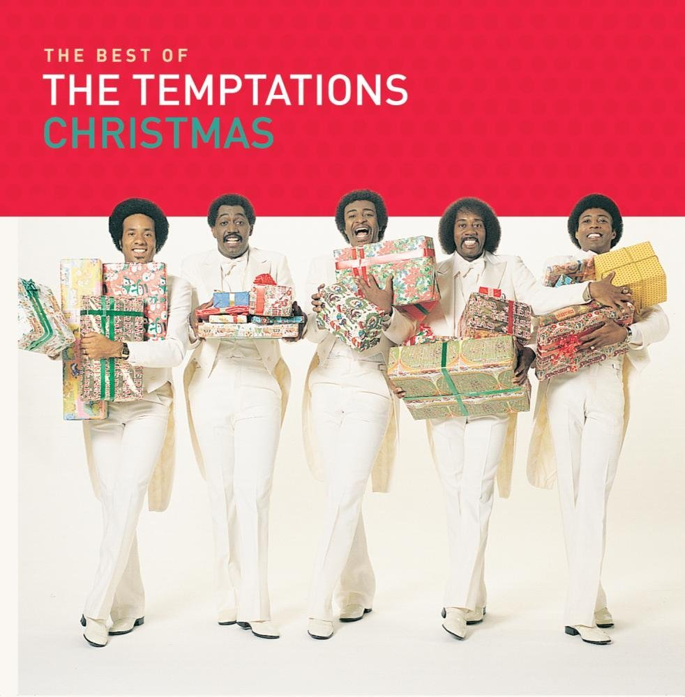 Best of Temptations Christmas album cover