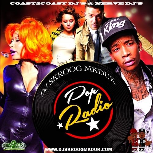DJ Skroog Mkduk Pop Radio mixtape cover