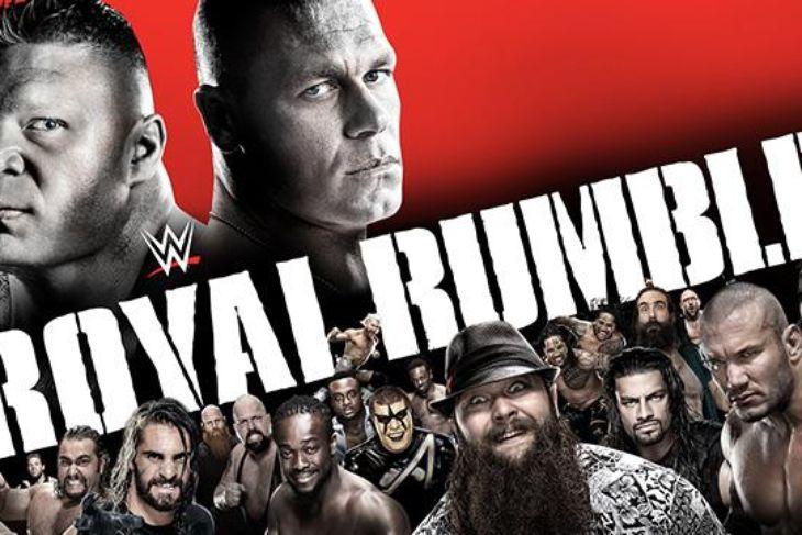 2015 Royal Rumble poster
