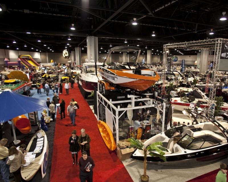 Atlanta Boat Show Show Room