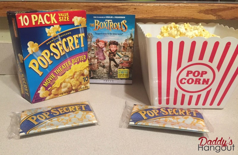 Boxtrolls Pop Secret #BoxtrollsFamilyNite #PMedia #ad