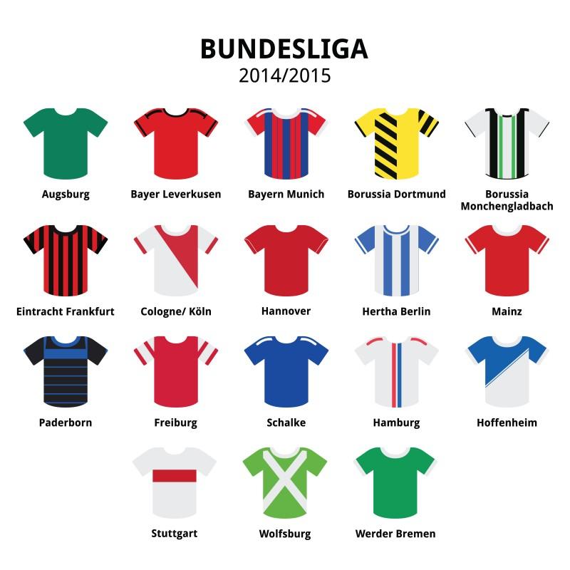 Bundesliga Jerseys