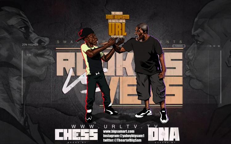 DNA vs. Chess #BattleRap