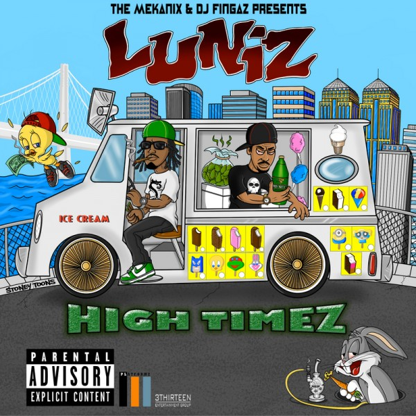 Luniz High Times mixtape cover