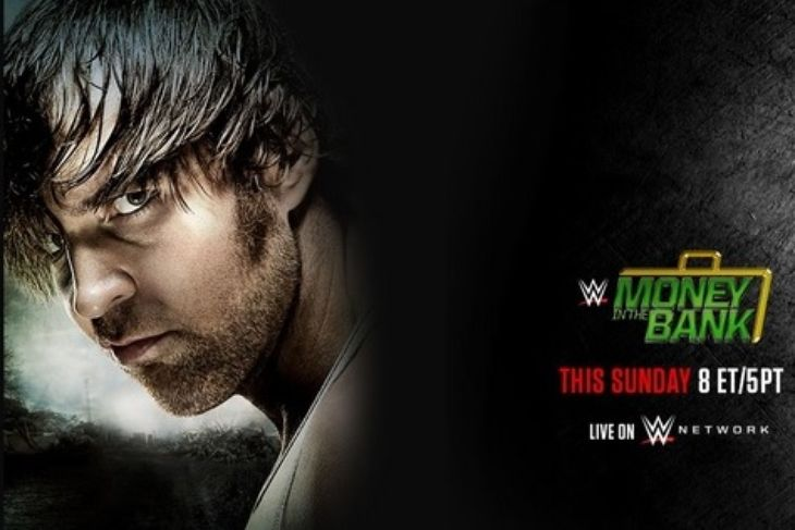 2015 Money in the Bank poster