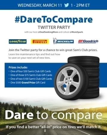 Sam's Club #DareToCompare