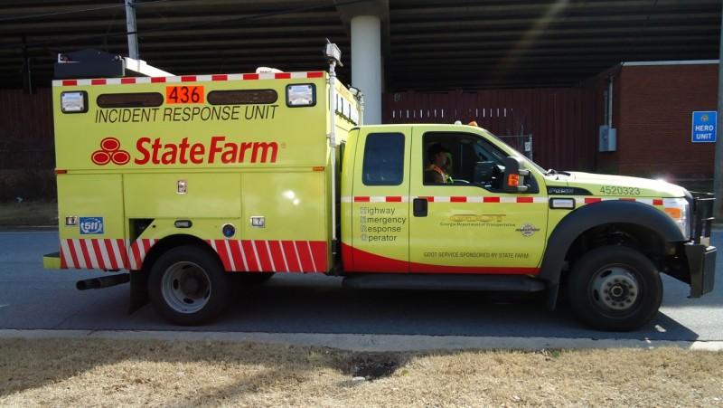 State Farm Emergency Truck