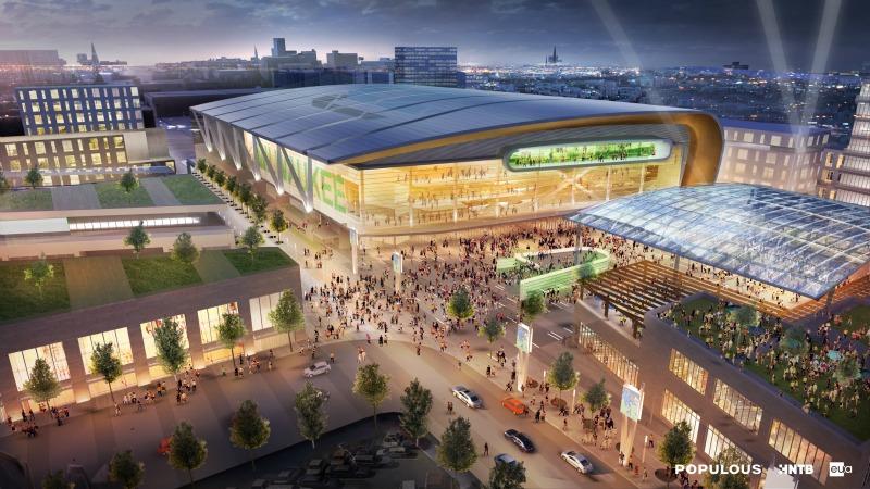 New Milwaukee Arena