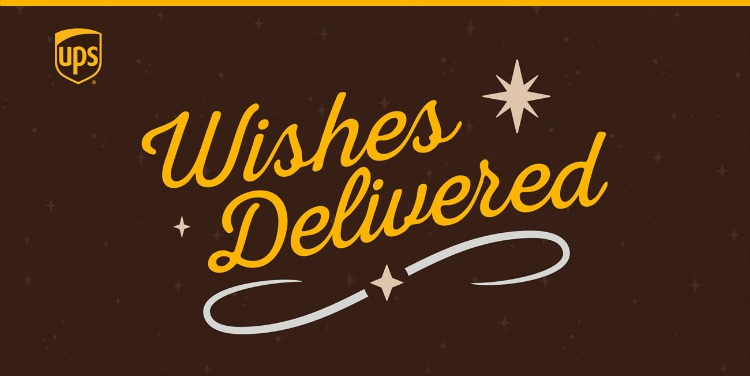 Wishes Delivered logo from UPS
