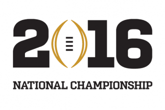 2016 College Football National Championship logo