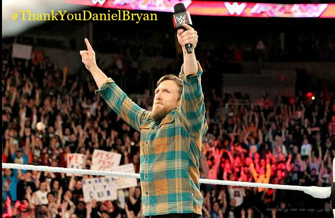 Monday Night Raw Daniel Bryan