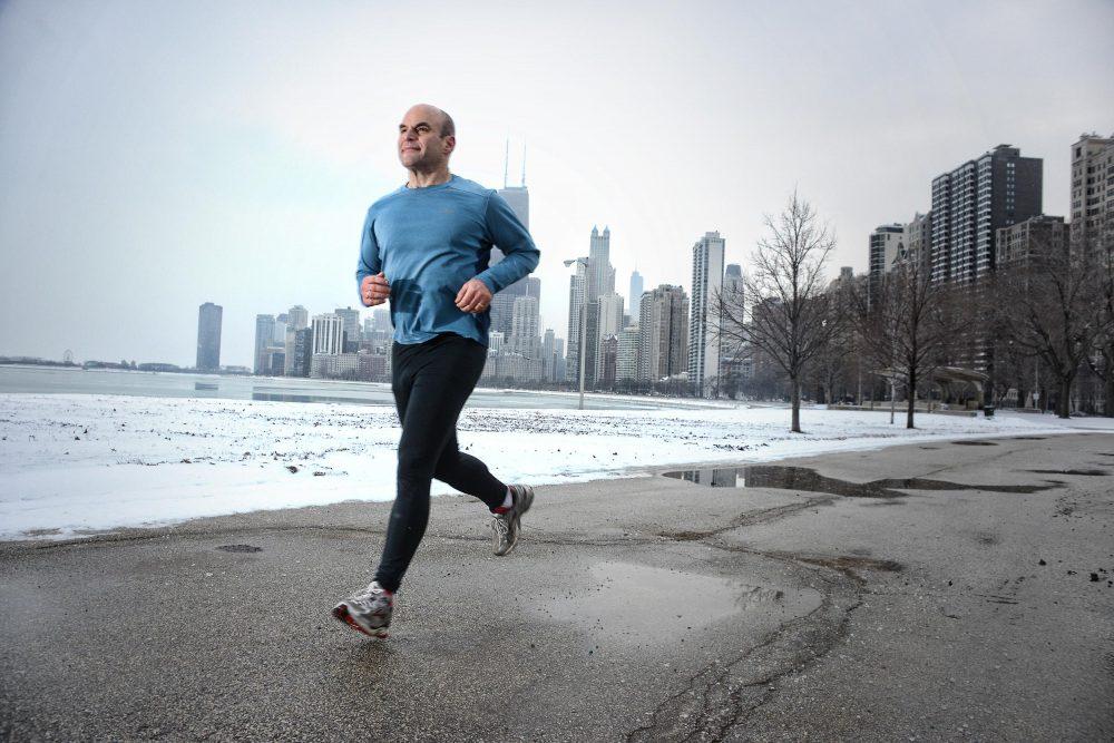 Dad Running