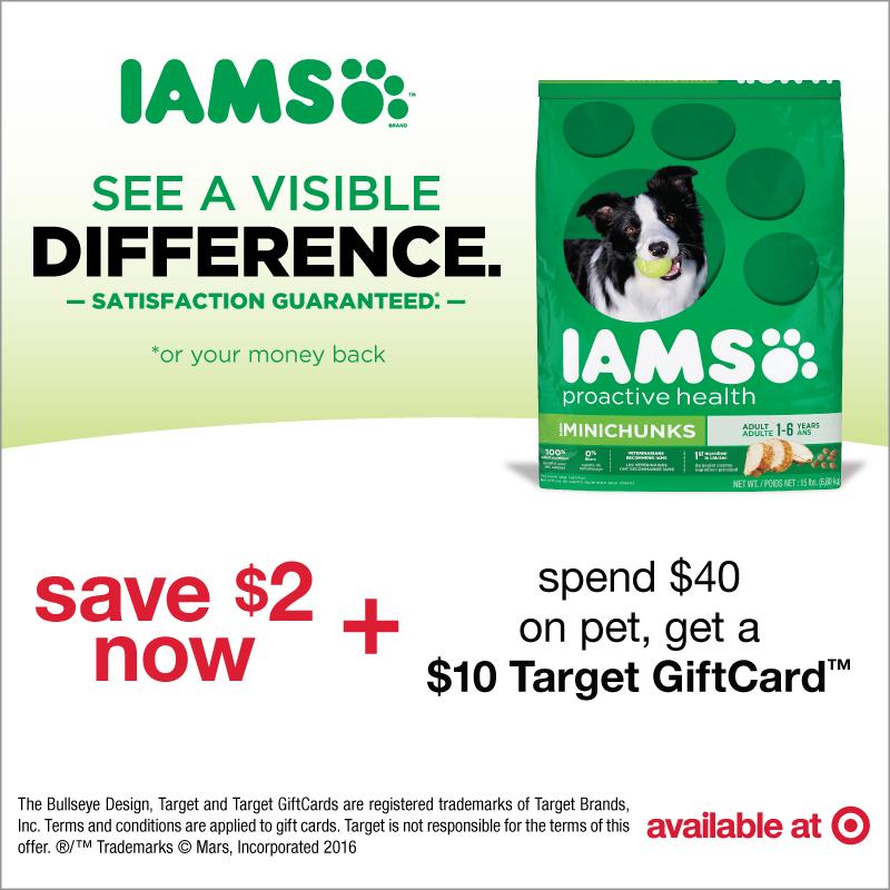 IAMS at Target #CollectiveBias #IamsDogGiftCardOffer #ad