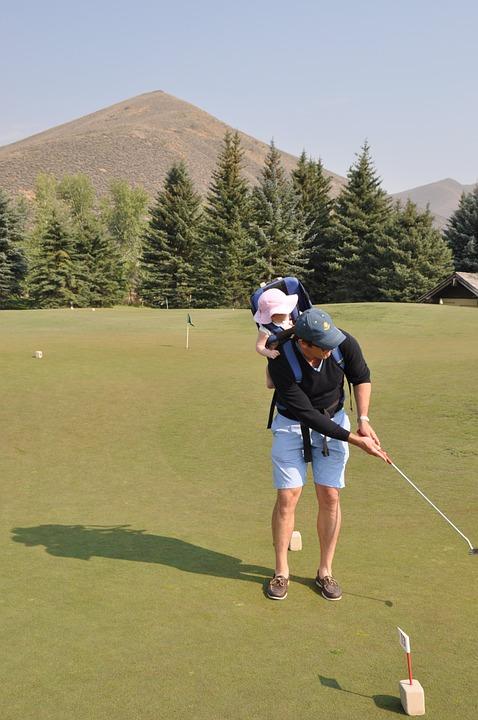 Golfin with Children
