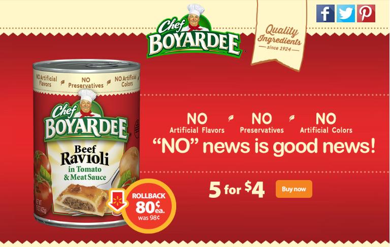 Chef Boyardee #SaveOnChef #cbias #ad