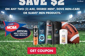Walgreen's Coupon #GroomingGameStrong #ad