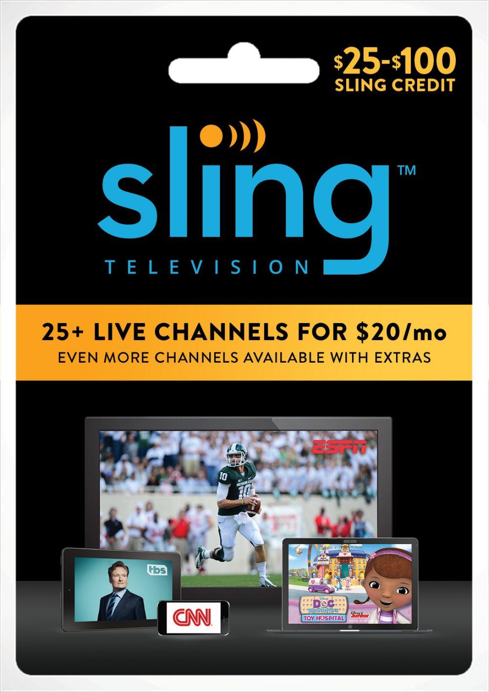 $75 Gift Card for Sling TV