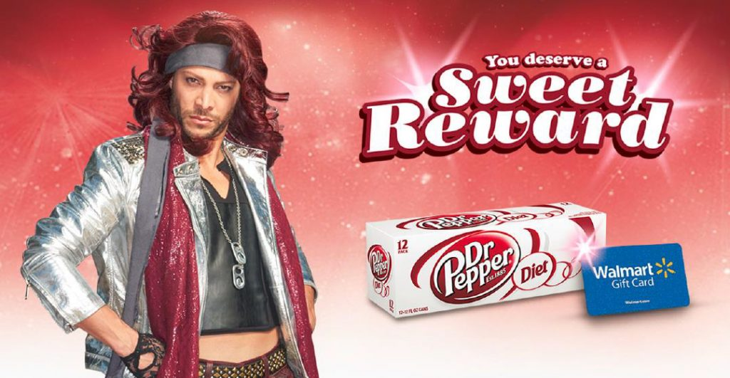 Rewards at Walmart with Diet Dr. Pepper #ColorMeSweet #ad