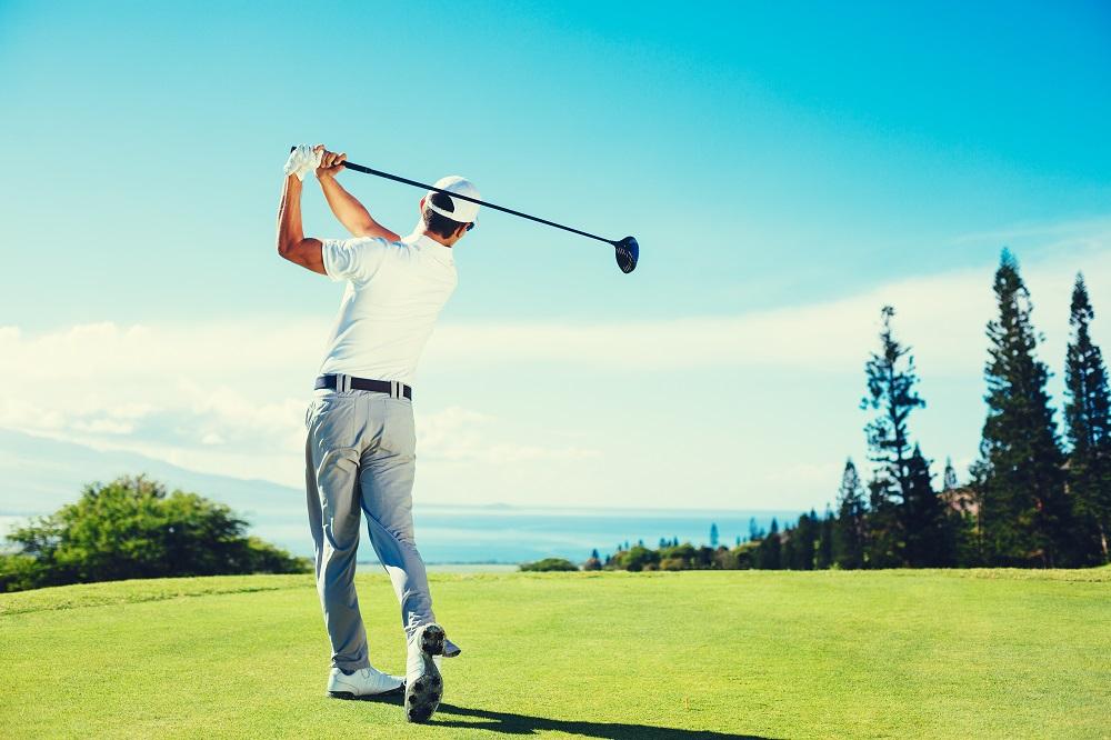 Hobbies: Guy Playing Golf