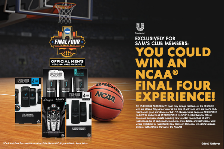 Win Tickets to the Final Four