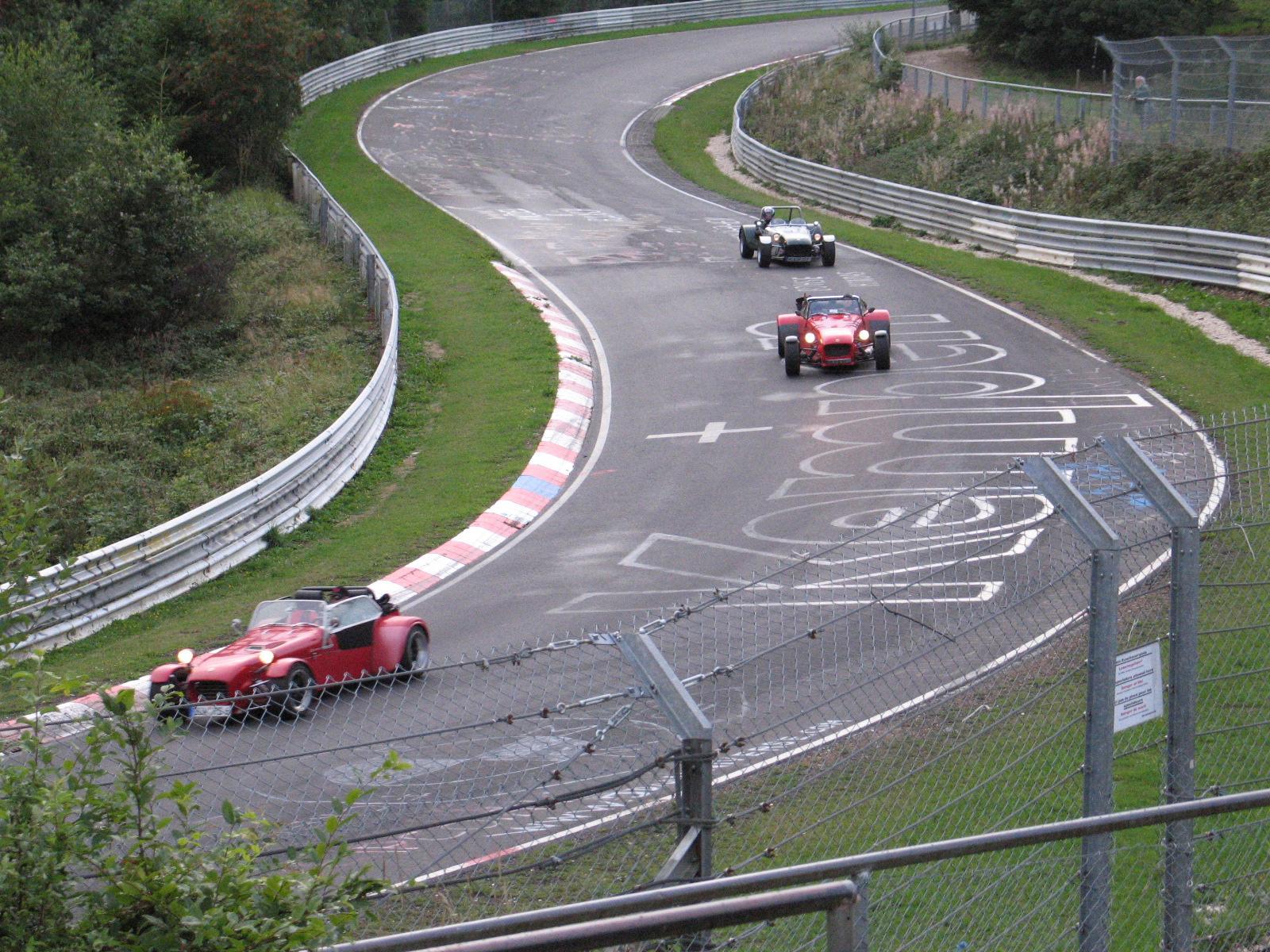 Full-Throttle Race Tracks