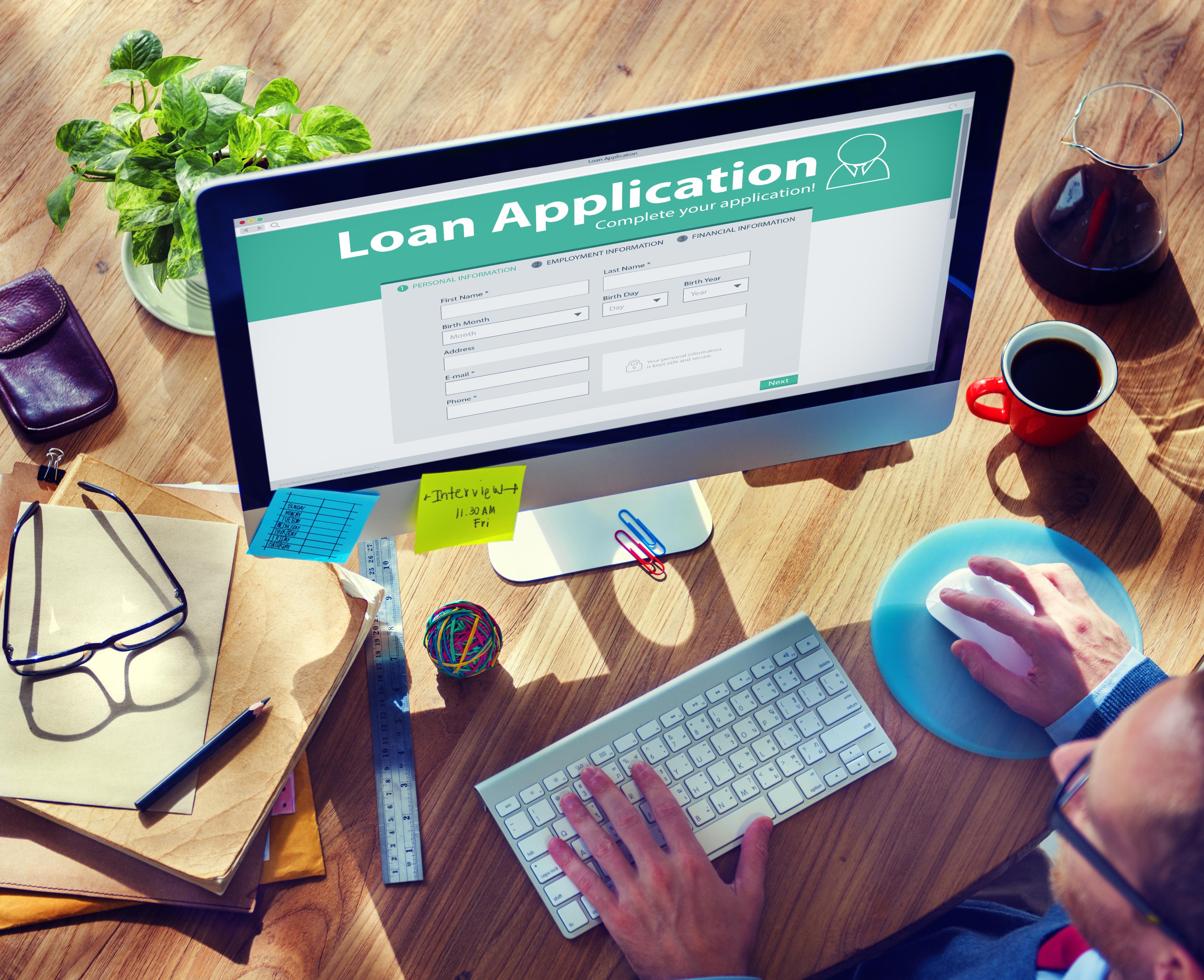 Applying for Loans Online