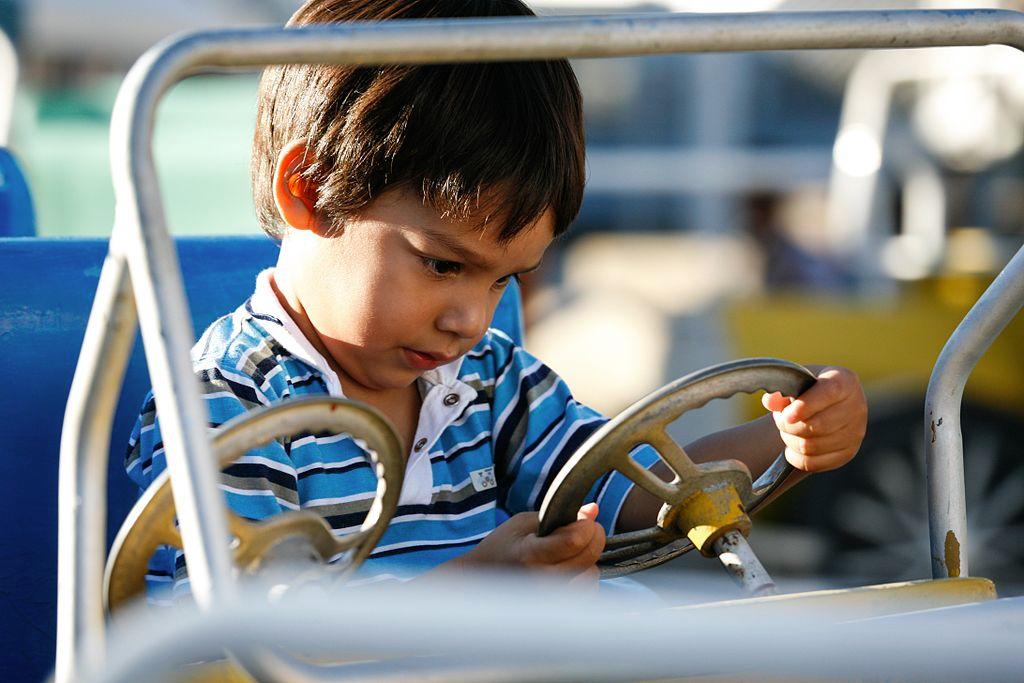Kid's Turn to Drive