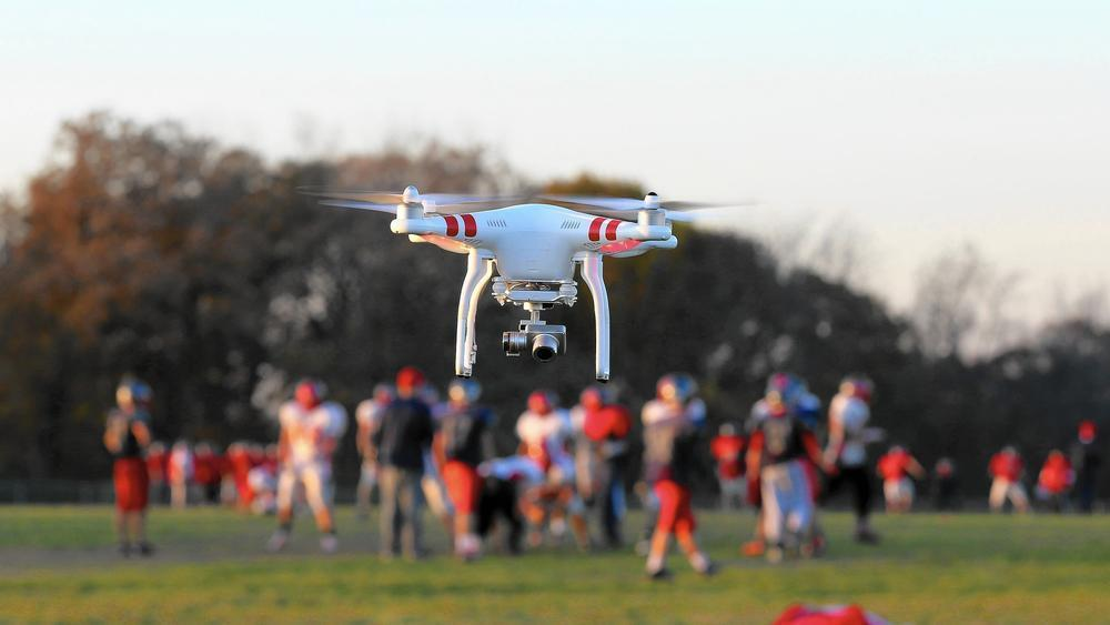Kid's Sports With Your Drone