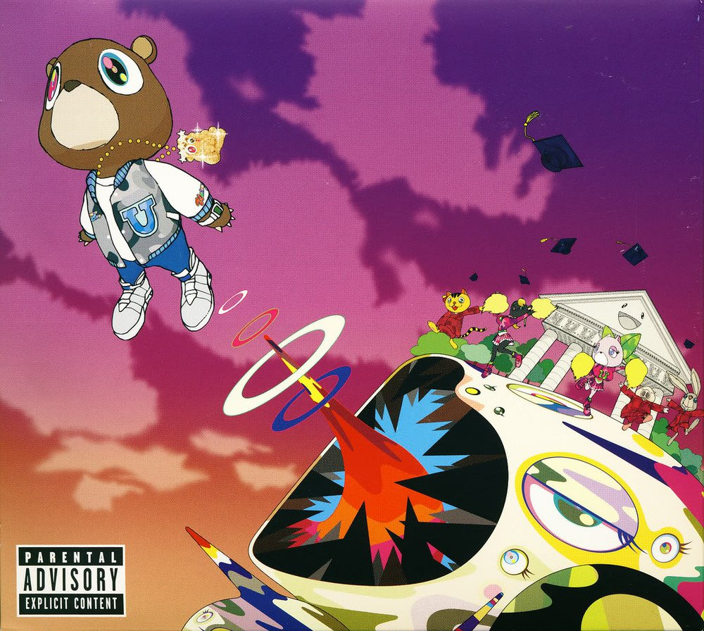 Kanye West Gradution