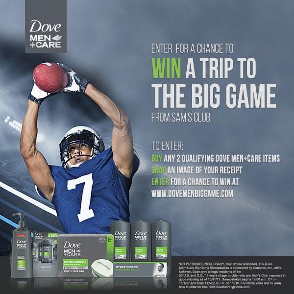 3 Reasons to Get Dove Men Care Products from Sams Club