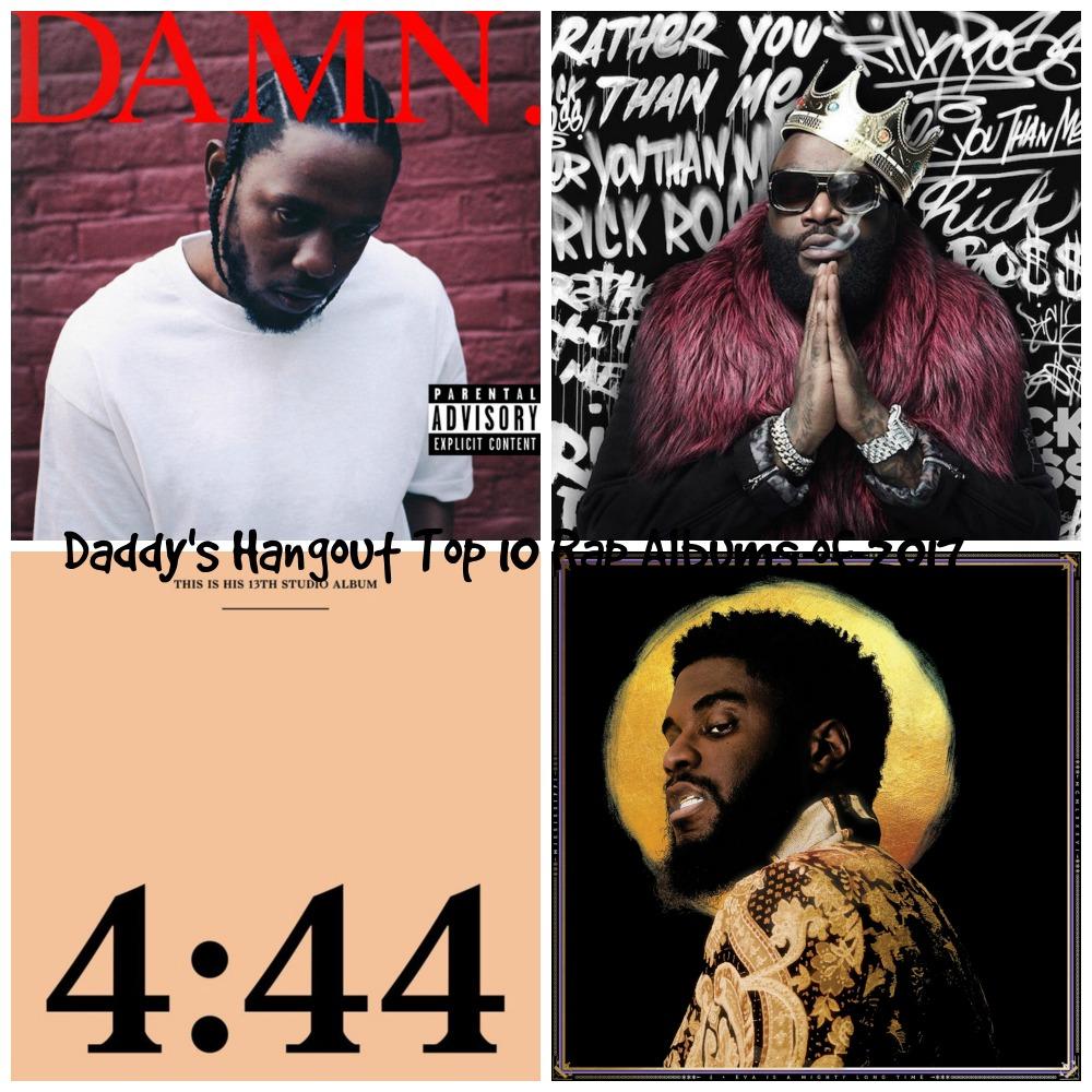 Top 10 Rap Albums of 2017