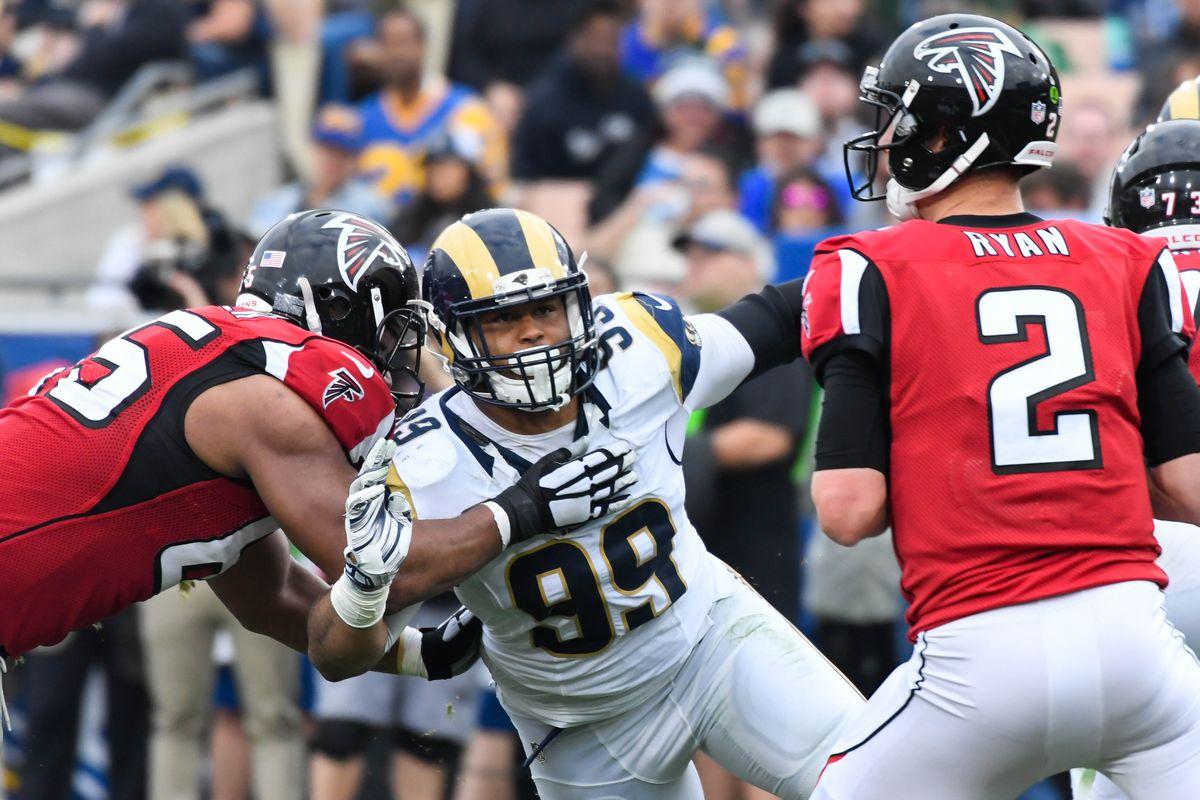 Falcons Beat Rams