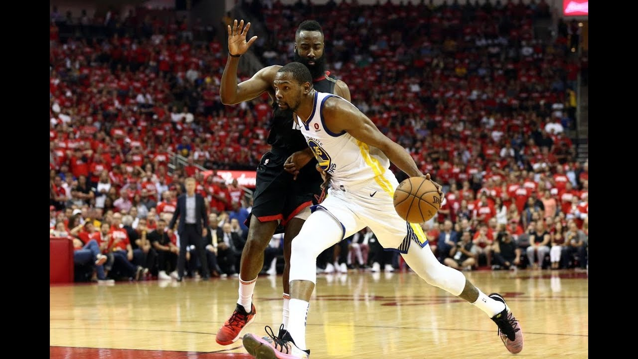 Game 7 Houston Versus Golden State for Trip to NBA Finals