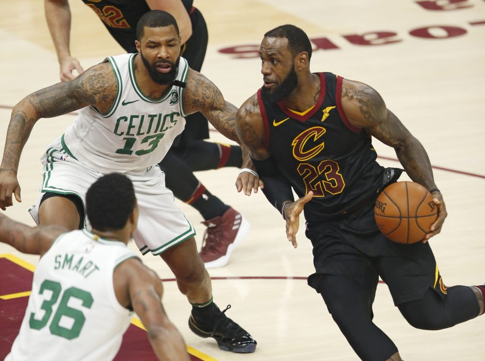 Game 7 Boston versus Cleveland Is Going Down Tonight
