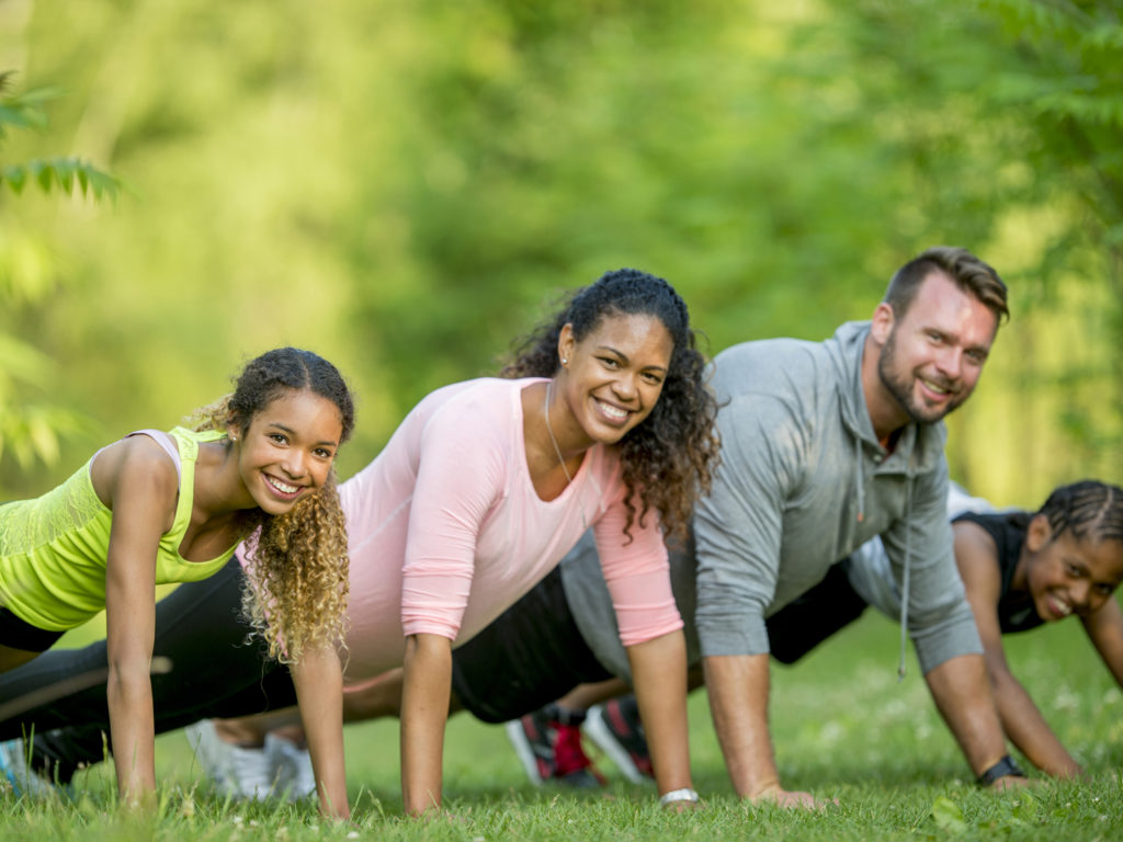 Looking to Spice Up Your Training Routine? Make It a Family Thing