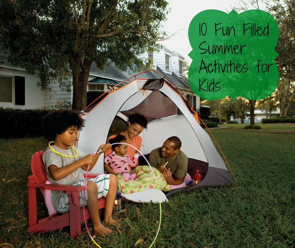 10 Fun Filled Summer Activities for Kids