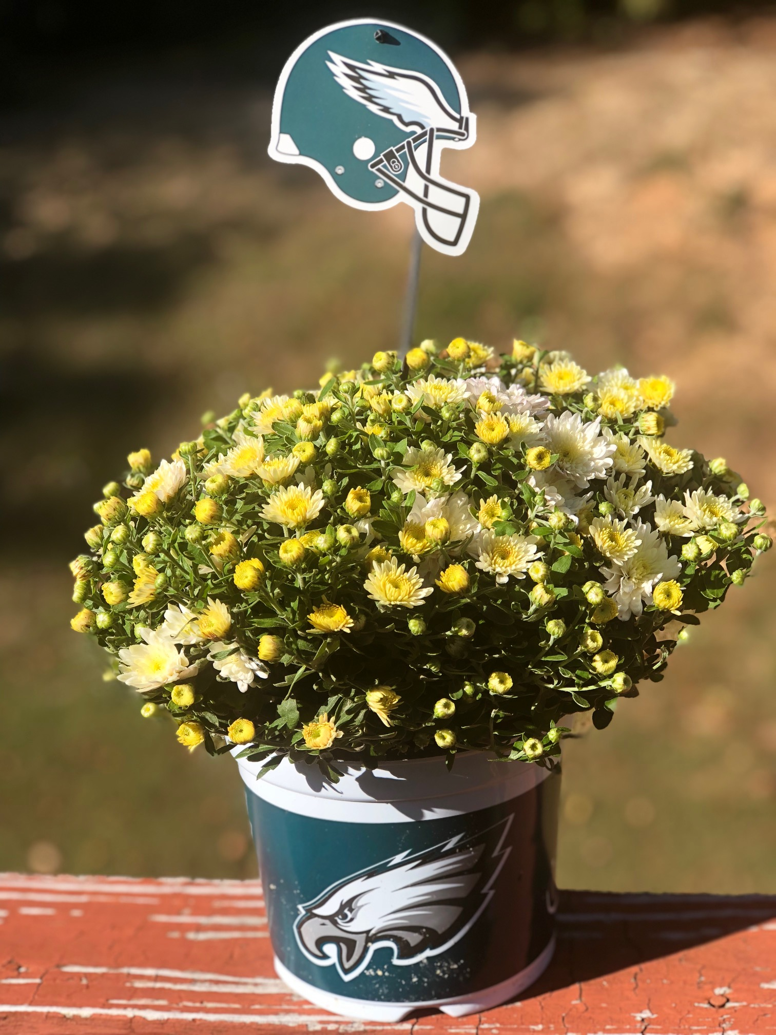 Peep The Amazing Sports Themed Flowers