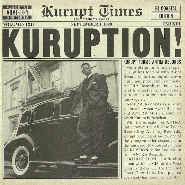 Kurupt Celebrate 20th Anniversary for Throwback Thursday