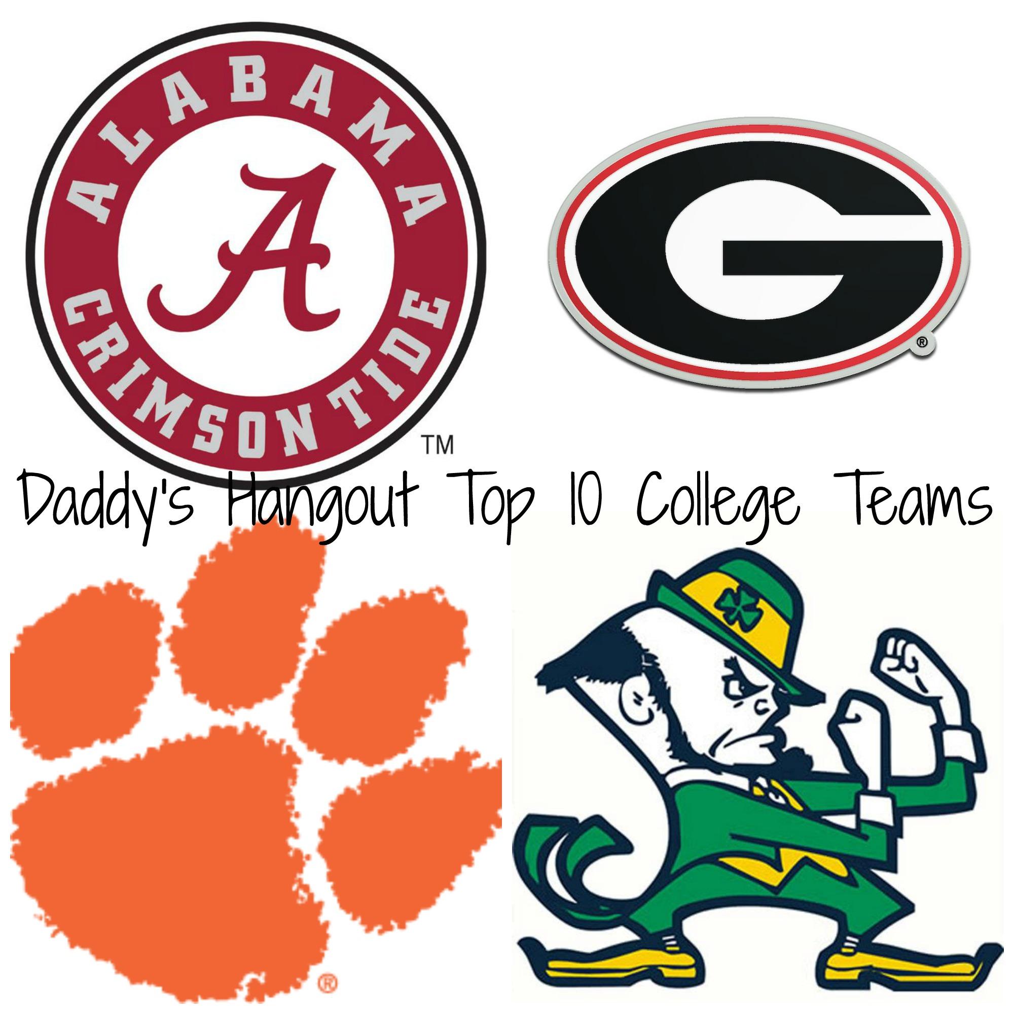 2018 Top 10 College Teams