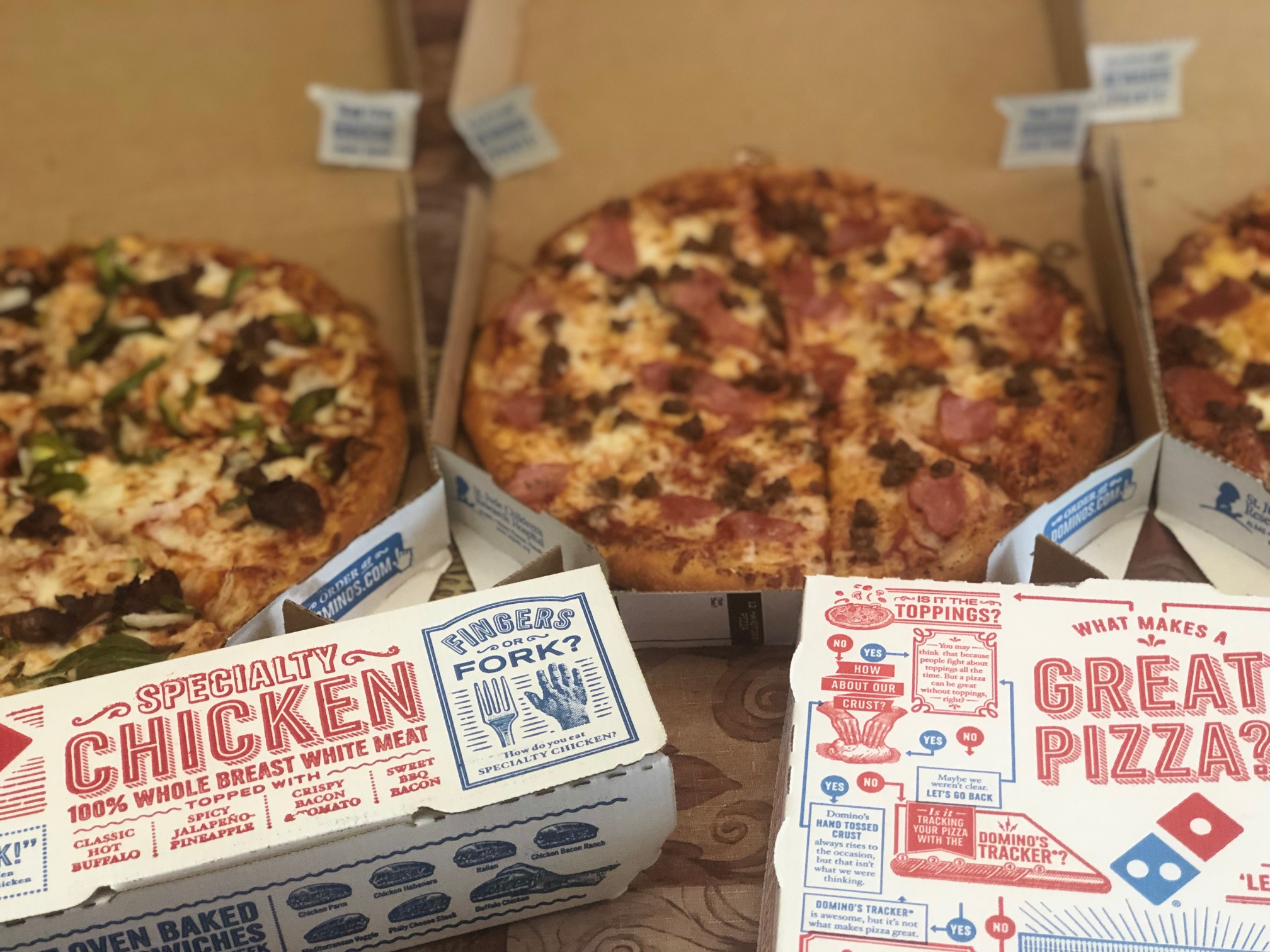 3 Items from Dominos We Need to Bring in 2019