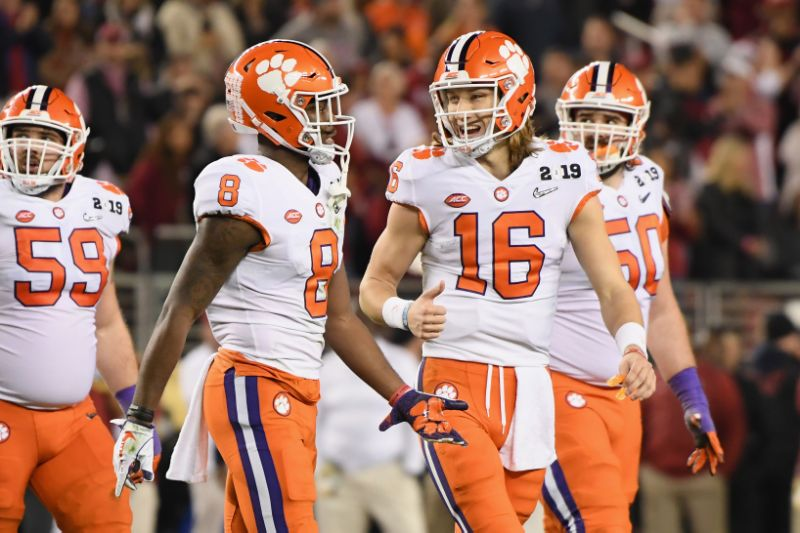 Clemson Roll Past Tide to Capture Championship