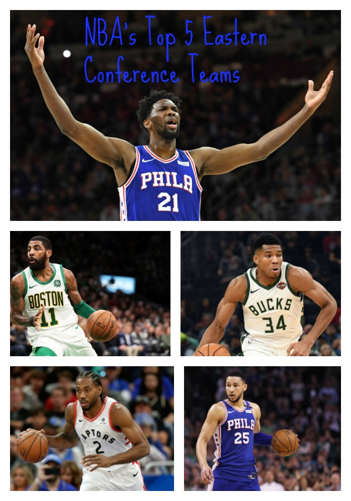 NBA's Top 5 Eastern Conference Teams